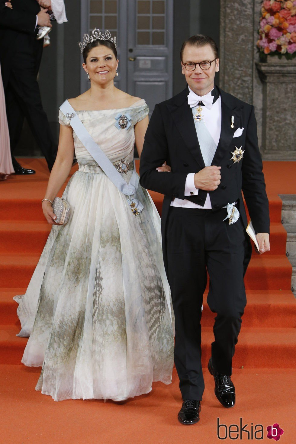 Victoria y Daniel de Suecia tras la boda de Carlos Felipe y Sofia de Suecia