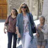 La Infanta Cristina con su hija Irene el día de su 50 cumpleaños