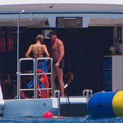 Paris Hilton y Thomas Gross disfrutando de unos días de vacaciones en Formentera