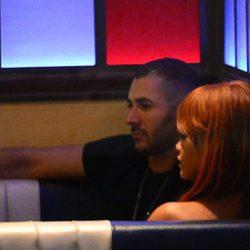 Rihanna y Karim Benzema durante su primera cita en Nueva York