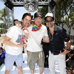 Channing Tatum y Matt Bomer revolucionan el desfile del Orgullo Gay en Los Ángeles