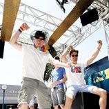 Channing Tatum y Matt Bomer promocionan 'Magic Mike XXL' bailando el día del Orgullo en Los Ángeles