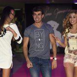 Daniel Muriel y Natalia en la celebración del primer aniversario de la firma de moda 'By Nerea'