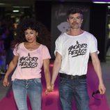 Nacho Guerreros y Cristina Medina en la celebración del primer aniversario de la firma de moda 'By Nerea'
