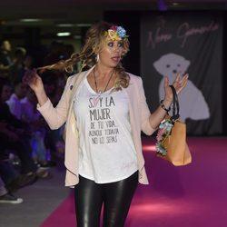 Miriam Díaz Aroca en la celebración del primer aniversario de la firma de moda 'By Nerea'