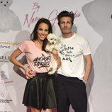 Jesús Olmedo y Nerea Garmendia en la celebración del primer aniversario de la firma de moda 'By Nerea'