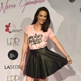 Nerea Garmendia en la celebración del primer aniversario de su firma de moda