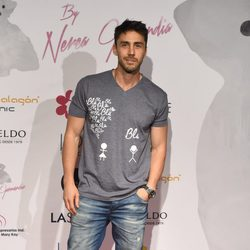 Rubén Sanz en la celebración del primer aniversario de la firma de moda 'By Nerea'
