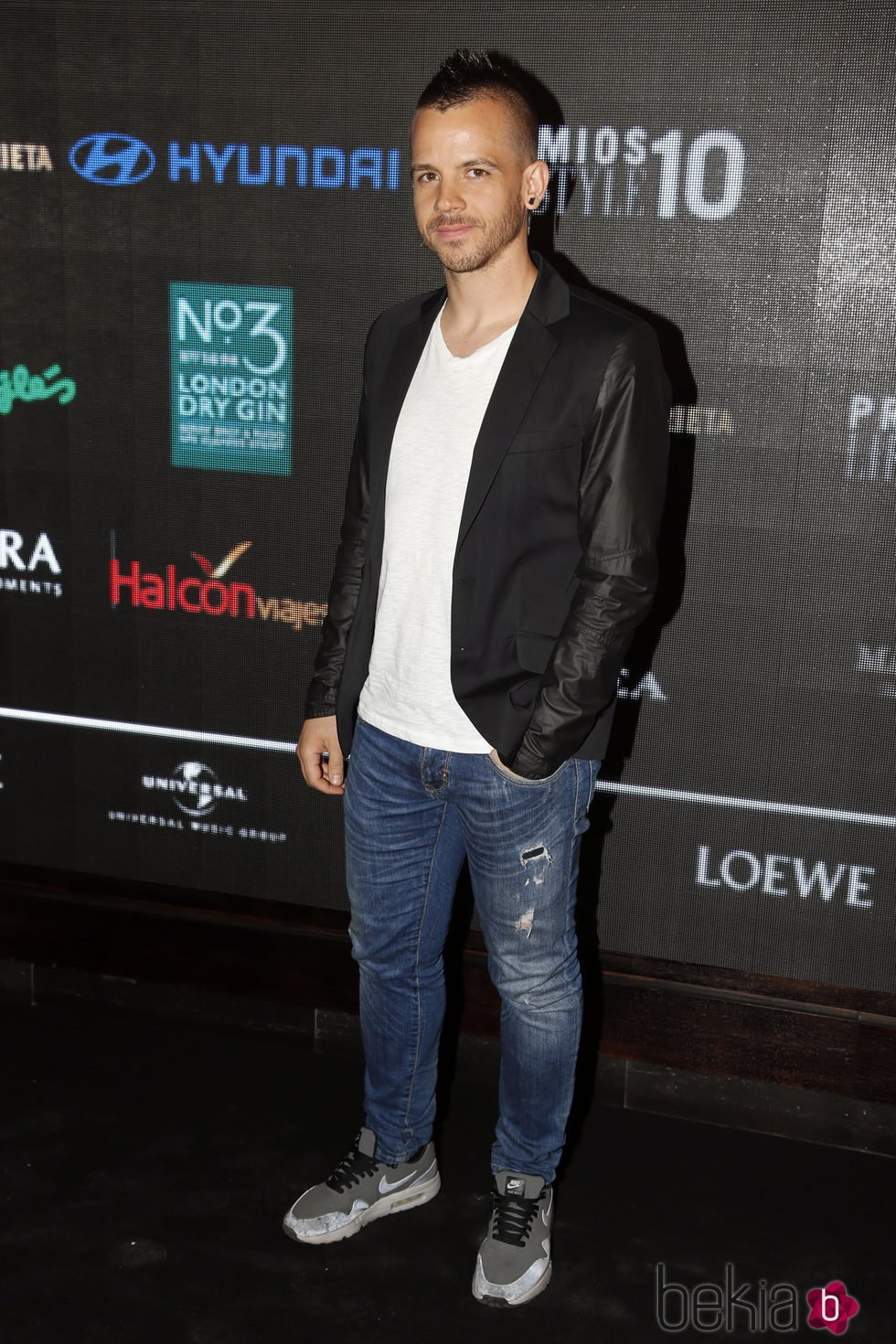 David Muñoz en la entrega de los Premios Lifestyle