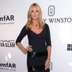 Heidi Klum en la Gala amfAR Inspiration de Nueva York 2015