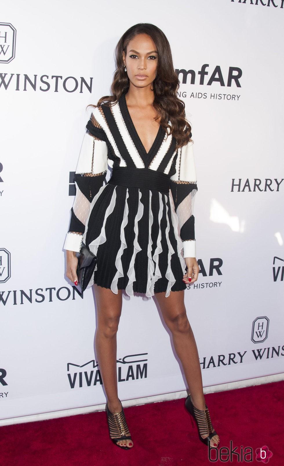 Chanel Iman en la Gala amfAR Inspiration de Nueva York 2015