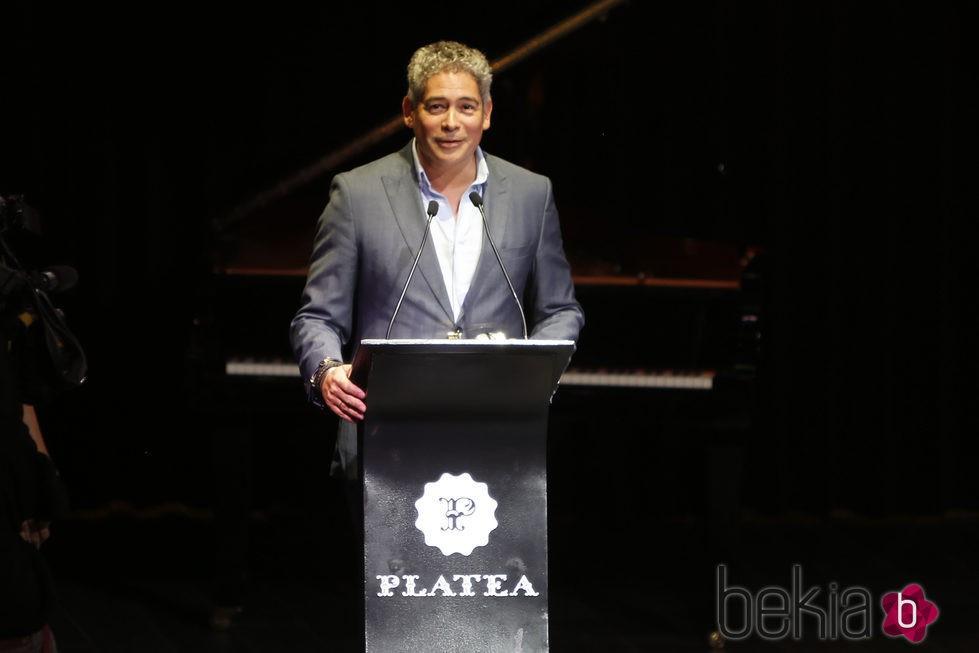Boris Izaguirre en la entrega de los Premios Lifestyle