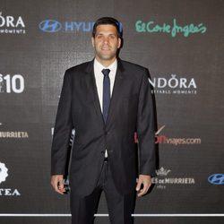 Felipe Reyes en la entrega de los Premios Lifestyle