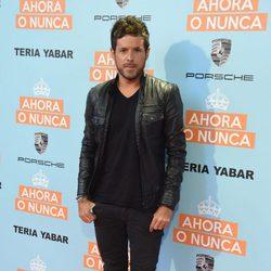 Pablo López en el estreno de 'Ahora o nunca'
