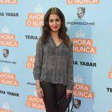 Hiba Abouk en el estreno de 'Ahora o nunca'