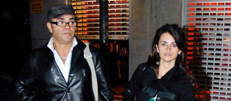 Penélope Cruz con su padre Eduardo Cruz