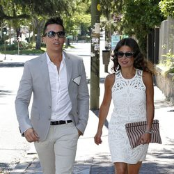 Omar Suárez en las bodas de plata de Lydia y Charlie