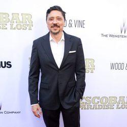 Carlos Bardem en la premiere de 'Escobar: Paraíso Perdido' en Los Angeles