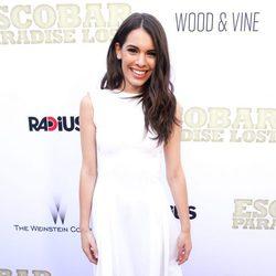 Claudia Traisac en la premiere de 'Escobar: Paraíso Perdido' en Los Angeles