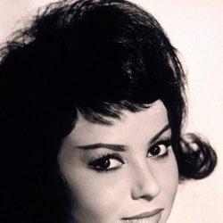 Marujita Díaz en un retrato de 1950
