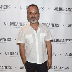 Javier Gutiérrez durante una fiesta de la firma Wildreamers en Madrid