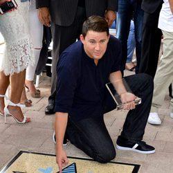 Channing Tatum recibe su estrella en el Paseo de la Fama de Miami