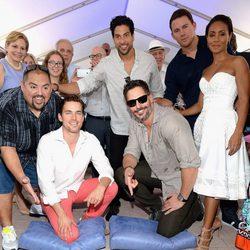El elenco de 'Magic Mike XXL' recibe su estrella en el Paseo de la Fama de Miami