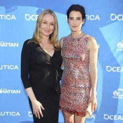 Cobie Smulders y Alexandra Cousteau en el evento benéfico de Oceana en Nueva York