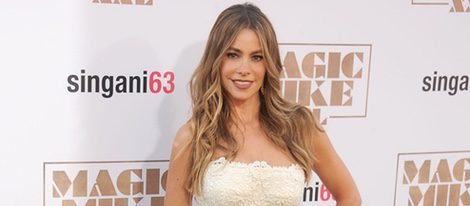 Sofia Vergara en la premiere de 'Magic Mike XXL' en Los Angeles