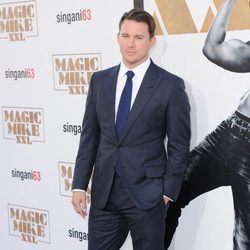 Channing Tatum en la premiere de 'Magic Mike XXL' en Los Angeles