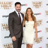 Joe Manganiello y Sofia Vergara en la premiere de 'Magic Mike XXL' en Los Angeles