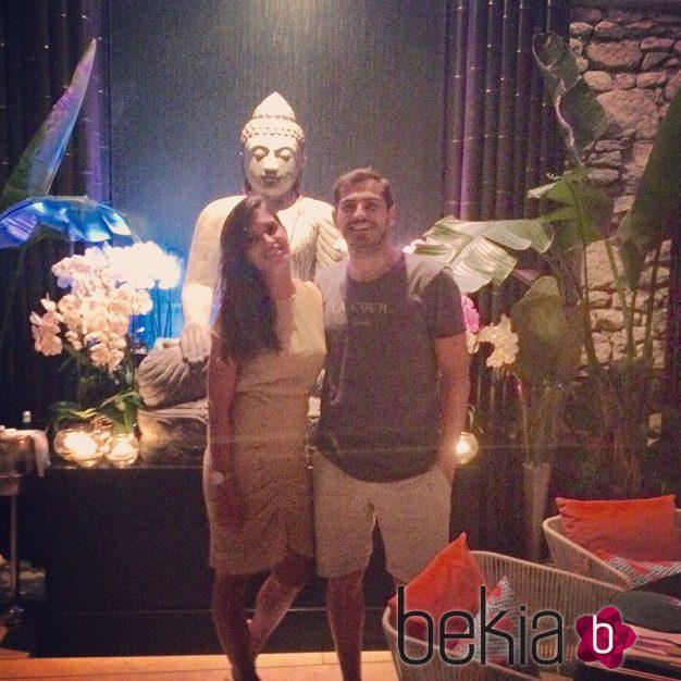 Iker Casillas y Sara Carbonero en Mykonos