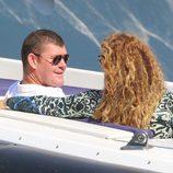 Mariah Carey y James Packer viaje en yate muy cómplices