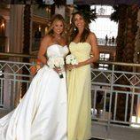 Sofía Vergara con su mejor amiga, Chi Bui en su boda