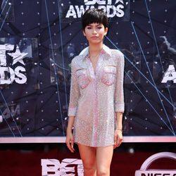 Zendaya en la alfombra roja de los Bet Awards 2015