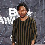 Kendrick Lamar en la alfombra roja de los Bet Awards 2015