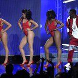 El rapero Diddy actuando en los Bet Awards 2015