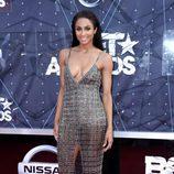La cantante Ciara en la alfombra roja de los Bet Awards 2015