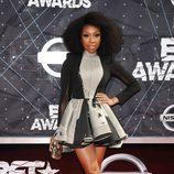 Brandy Norwood en la alfombra roja de los Bet Awards 2015