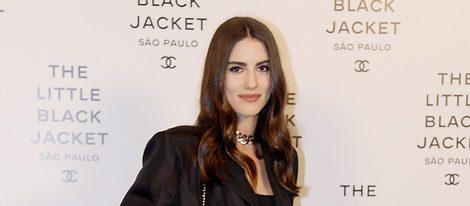 La modelo Luisa Moraes en photocall