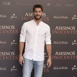 Luis Fernández en la presentación de 'Asesinos Inocentes' en Madrid