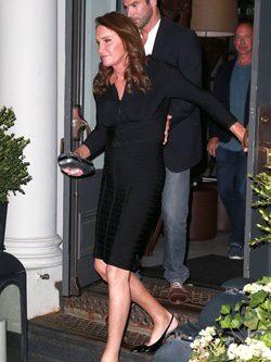 Caitlyn Jenner en una cena en Nueva York