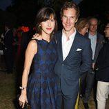 Sophie Hunter y Benedict Cumberbatch en la fiesta de verano de The Serpentine Gallery