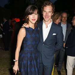 Sophie Hunter y Benedict Cumberbatch en la fiesta de verano de The Serpentine Gallery