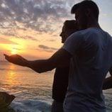 Edurne y David De Gea, muy románticos en sus vacaciones en Asia