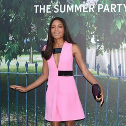 Naomie Harris en la fiesta de verano de The Serpentine Gallery