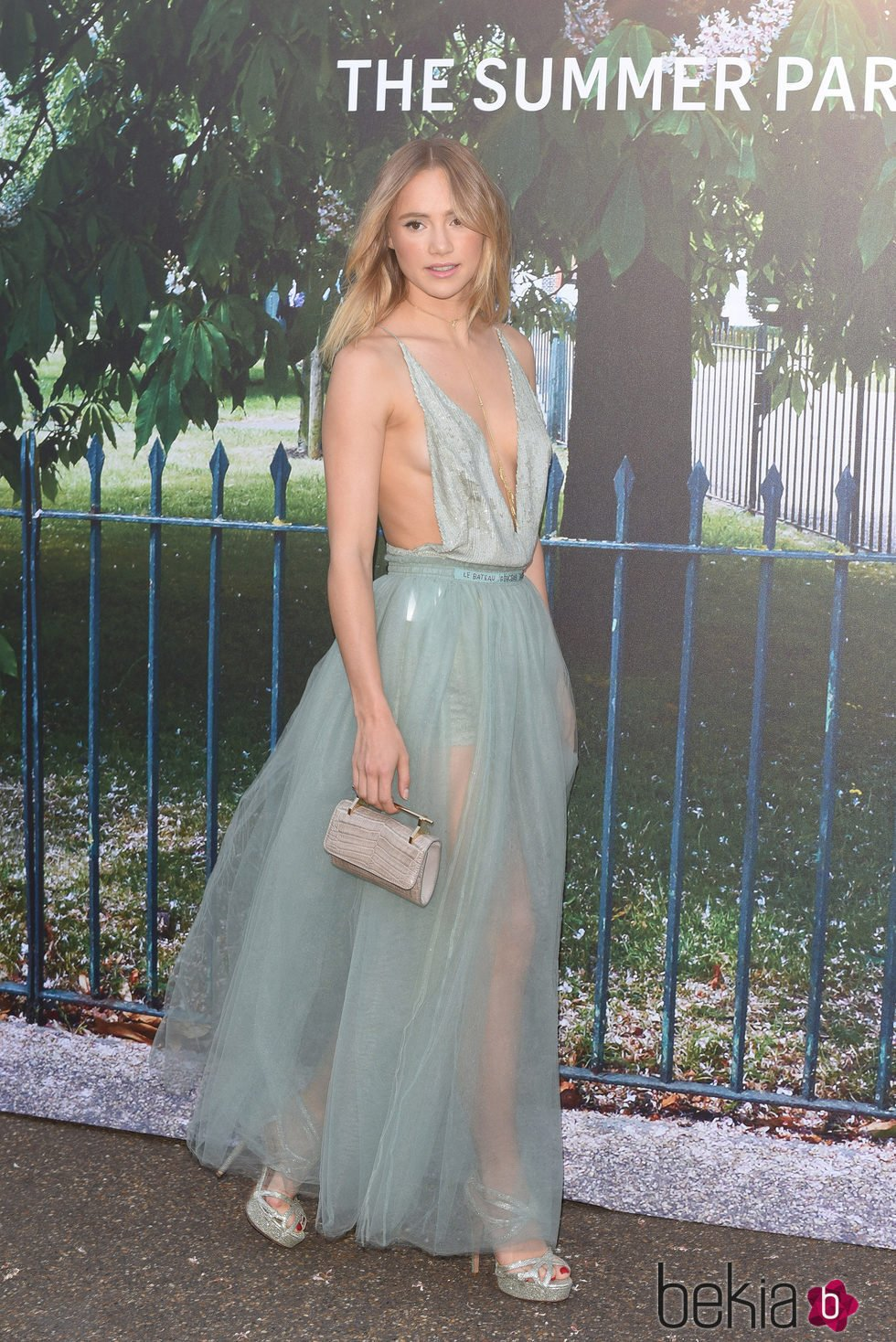 Suki Waterhouse en la fiesta de verano de The Serpentine Gallery