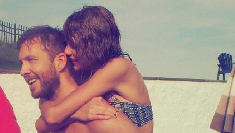Taylor Swift y Calvin Harris celebran juntos el Día de la Independencia