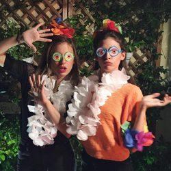 Úrsula Corberó y Blanca Suárez se disfrazan de hawaianas en Instagram