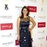 Fabiola Martínez en la alfombra roja de los Global Gift 2015
